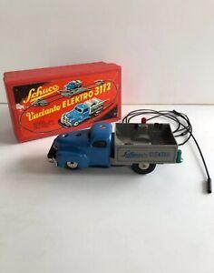 Schuco Varianto 3112 Elektro Lasto Boxed - Rare - Selten - Blue - Near Mint