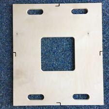 Hochwertige & stabile Birkensperrholz-Platte 75 x 66 x 1,8 cm gefaste Kanten