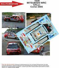 Voitures de sport miniatures rouges Mitsubishi