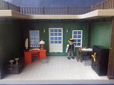PLAYMOBIL Western - Le banquier dans son bureau avec son mobilier (DECOR EXCLU)