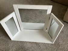 White Dressing Table Vanity Mirror