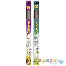 Power-GLO T8, 20W linear fluorescent aquarium bulb with Free Aqua-GLO T8, 20W