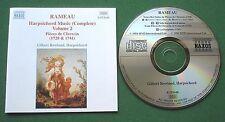 Rameau Harpsichord Music Complete Volume 2 Gilbert Rowland CD