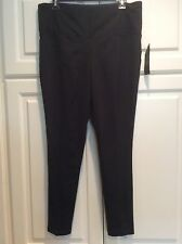 New Xl Black Ralph Lauren Skinny Casual Ankle Pants Yoga Athletic Exercise $148+