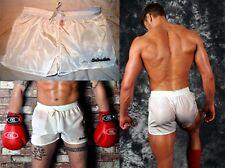 nylon shorts white  M L XL Schuta