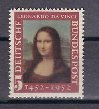 BRD 1952 postfrisch MiNr. 148  500. Geburtstag von Leonardo da Vinci / Mona Lisa