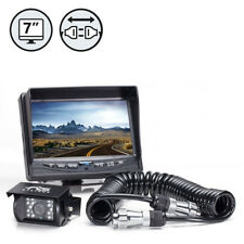 "Rearview Safety 7"" LCD Backup Camera System with Trailer Tow Quick Connect Kit"