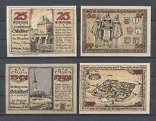 Schüttdorf - 4x Serienscheine, Lindman 1172, Mehl 1202, kompl. Satz