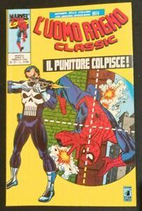 L'UOMO RAGNO CLASSIC N°37 - STAR COMICS - PRIMA APPARIZIONE PUNISHER / PUNITORE
