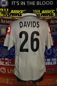 4/5 Juventus adults L 2000 #26 Davids away football shirt jersey maglia soccer
