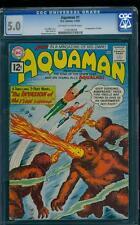 Aquaman 1 CGC 5.0 Silver Age Key DC Comic 1st Aquaman in title & 1st Quisp L@@K