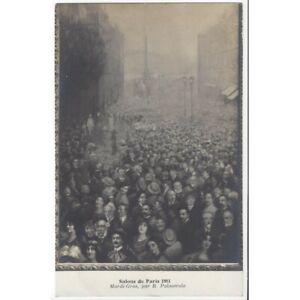 75 PARIS SALONS DE PARIS 1911 Mardi-Gras par R. PALMAROLA