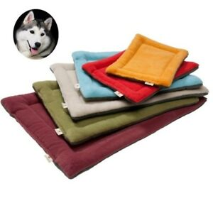 Cozy Pet Dog Bed Mat Kennel Soft Fleece Dog Bed Pet Dog Cushion Winter Pet Mats