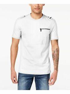 SEANJOHN Mens White Short Sleeve Classic Fit Casual Shirt 3XL