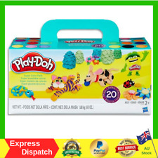 Play-Doh Super Colour Pack inc 20 Tubs of Dough Creative Kids Toys - Ages 2+ NEW