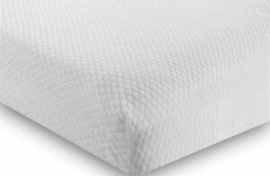 Luxury Terry Mattress Protector Diamond Fitted Sheet Non Waterproof Bed Cover