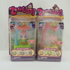 Zoobles Petal Point Collection Arizona #191 Mr.Quacks #194 New in Package