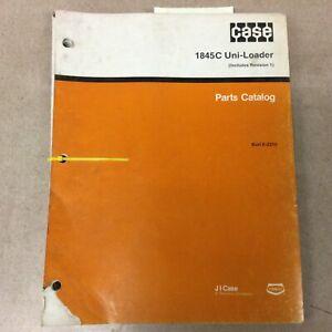 Case 1845C PARTS MANUAL BOOK CATALOG LIST SKID STEER LOADER GUIDE # Burl 8-2310