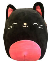 """Kellytoy Squishmallow Halloween 8"""" Collection Catarina The Cat Plush Toy"""