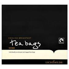 Lichfield Fairtrade English Breakfast Tea Bags - 1 x 100