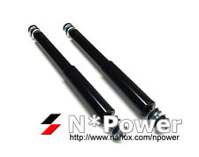 GAS SHOCK ABSORBERS PAIR FRONT for NISSAN Patrol 4WD 160 MQ 1984-1987 SD33T 3.2L