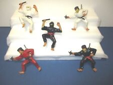 Vintage Ninja Finger Fighters Lot of 5 Figures. Super Rare!