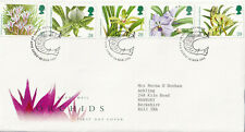 (28011) GB FDC Orchids Glasgow 1993