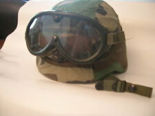 US Army Small PASGT tête casquée + Dust Goggles Kevlar USMC Woodland Desert Storm bb22