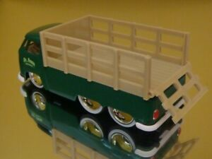 Old S'Kool 1963 63 VW Volkswagen Stake Bed Bus 1/64 Scale Limited Edition S