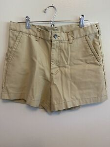 """Men's Patagonia Stand Up Shorts 5"""" (34) Beige"""