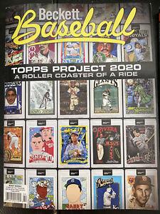 Brand NEW Beckett Baseball Card Price Guide February 2021 TOPPS Project 2020