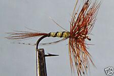 10 x Mouche de peche Sèche Panama H12/14/16 truite dry fly fyshing mosca