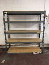 "Lot of (5) - Industrial Shelving Unit Storage 5 Shelf Heavy Duty  24""x60""x84"""