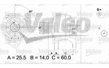 VALEO Alternador para FORD VW GOLF TRANSPORTER SEAT IBIZA LEON AUDI A4 437317