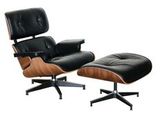 Replica Eames Lounge Chair With 5 Star Base & Ottoman with 4 Star Base