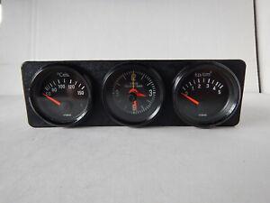 VDO Kombi Zusatzinstrument Uhr Ölemperaturanzeige Öldruckanzeige VW Oldtimer BMW