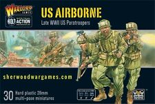 28mm Warlord Games Bolt Action Elite American Airborne Troops WWII skirmish BNIB
