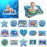 DE Aufblasbare Wassermatte für Baby Kleinkinder Matratze Splash Playmat Bauch DE