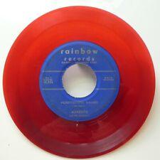 ALFREDITO 45 Honeydripper Mambo Pt.1 Pt.2 RAINBOW red wax LATIN   #1197