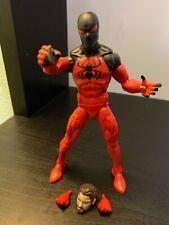 Marvel Legends Scarlet Spider with Sp////dr BAF Piece SHIPS LOOSE!