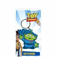 Toy Story 4 Alien Rubber Keyring Keychain - Disney Toy Story