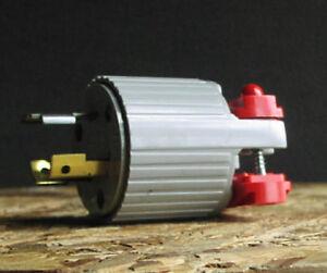 Eagle 20A-125/250V 3 pole 3 wire Twist Lock Plug NEMA L10-20P