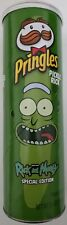 NEW SPECIAL EDITION PRINGLES RICK AND MORTY PICKLE RICK POTATO CHIPS 5.5 OZ