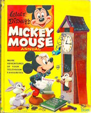 Walt DISNEY MICKEY MOUSE ANNUAL 1961 Rare Dean Childs Collectable hb Full spine