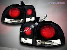 1996-1997 Honda Accord Altezza Tail Lights JDM Black 96 97 NEW