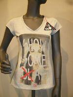 Boom Bap T-Shirt - KLASS - WCV0011 - V-Neck -Mixed Grey (grau) +Neu+