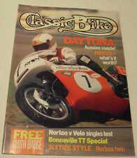 Moto clásica asunto 5/89:2 Bsa A50 & A65, Norton ES2, Velocette Venom, norbsa, Bultaco