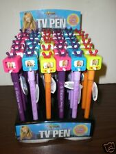 36 Assorted Hannah Montana TV Image Pens In Display NEW