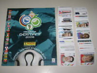 WORLD CUP GERMANY 2006 - ALBUM PANINI Empty + set of 597 stickers 100% Complete