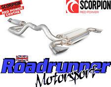"Scorpion SVX057 Astra VXR J MK6 Exhaust System 3"" Secondary Cat Back Resonated"